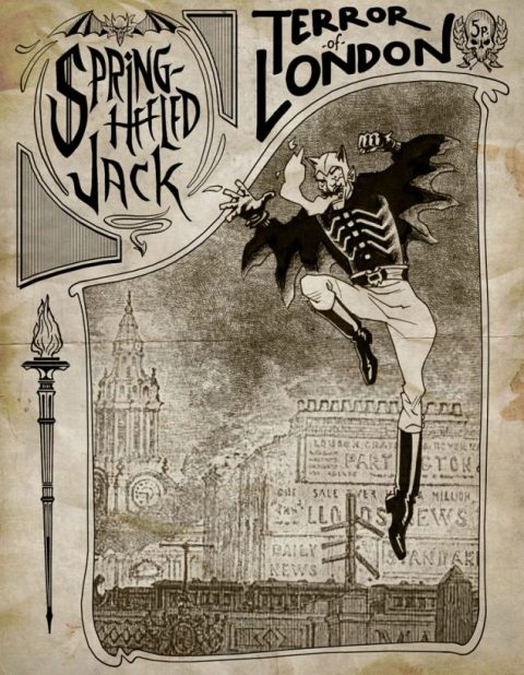 Spring Heeled Jack, il terrore di Londra