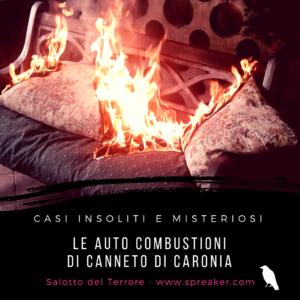 I casi di auto combustione di Canneto di Caronia