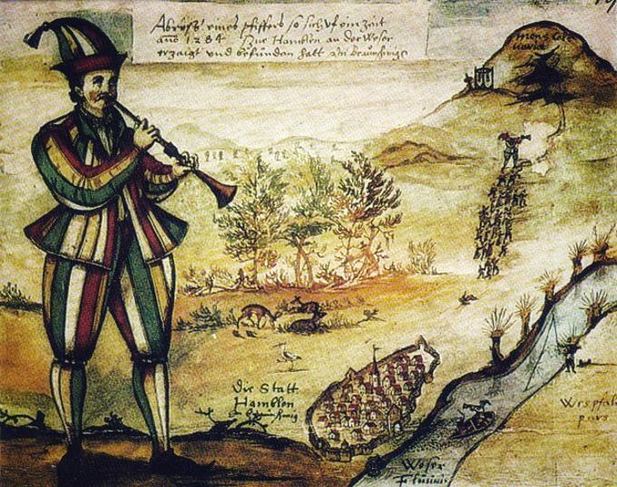 Il-pifferaio-di-Hameln-illustrazione-Augustin-von-Moersperg-1592