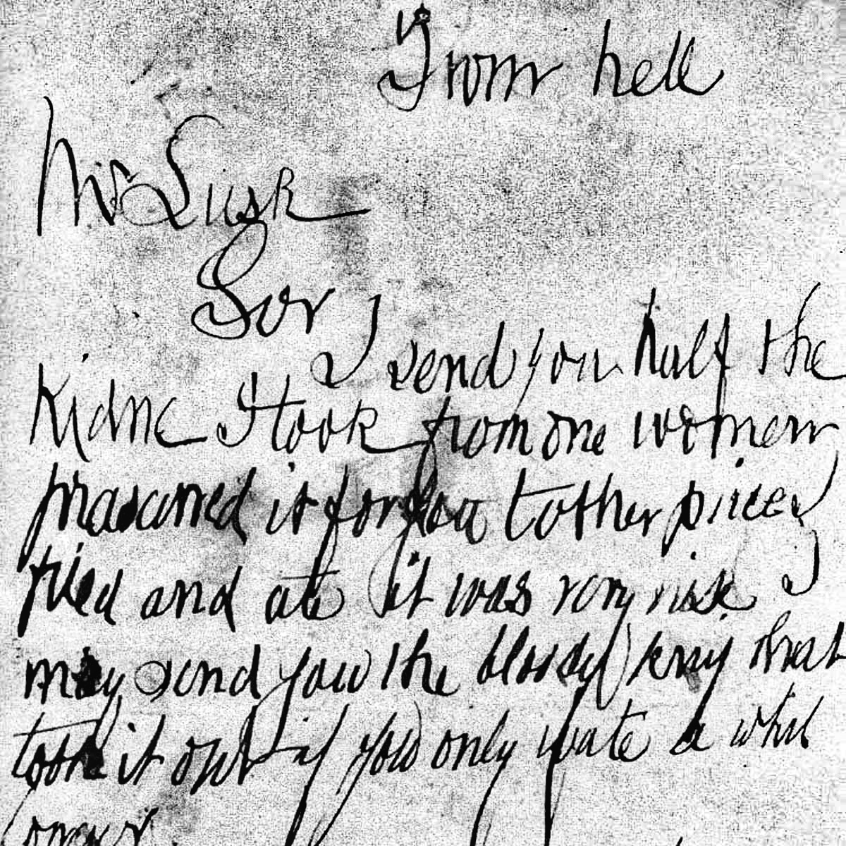 from hell letter jack the ripper
