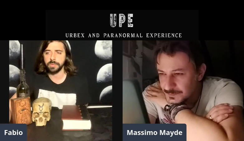 Intervistato da Fabio di UPE (Urbex and Paranormal Experience) – VIDEO