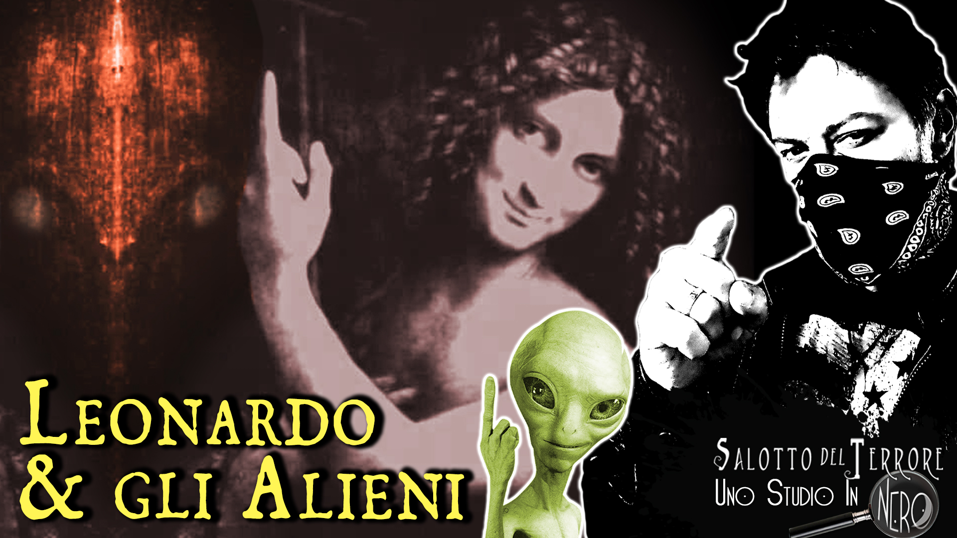 Leonardo da Vinci, il codice da Vinci e qualche alieno - Uno Studio in Nero